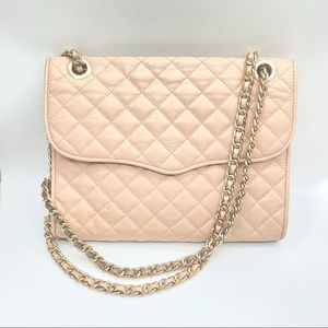 Rebecca Minkoff quilted Affair bag/ large/blush
